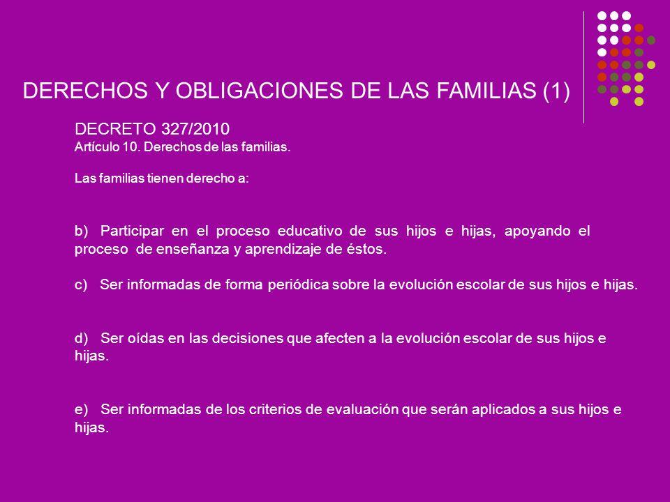 DERECHOS Y OBLIGACIONES DE LAS FAMILIAS (1)