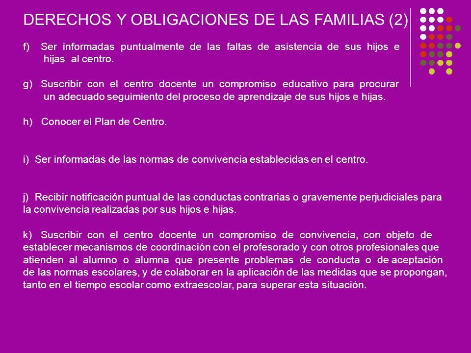 DERECHOS Y OBLIGACIONES DE LAS FAMILIAS (2)