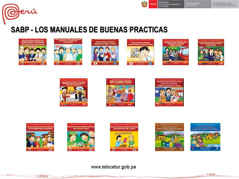 SABP - LOS MANUALES DE BUENAS PRACTICAS