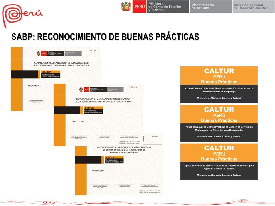 SABP: RECONOCIMIENTO DE BUENAS PRÁCTICAS