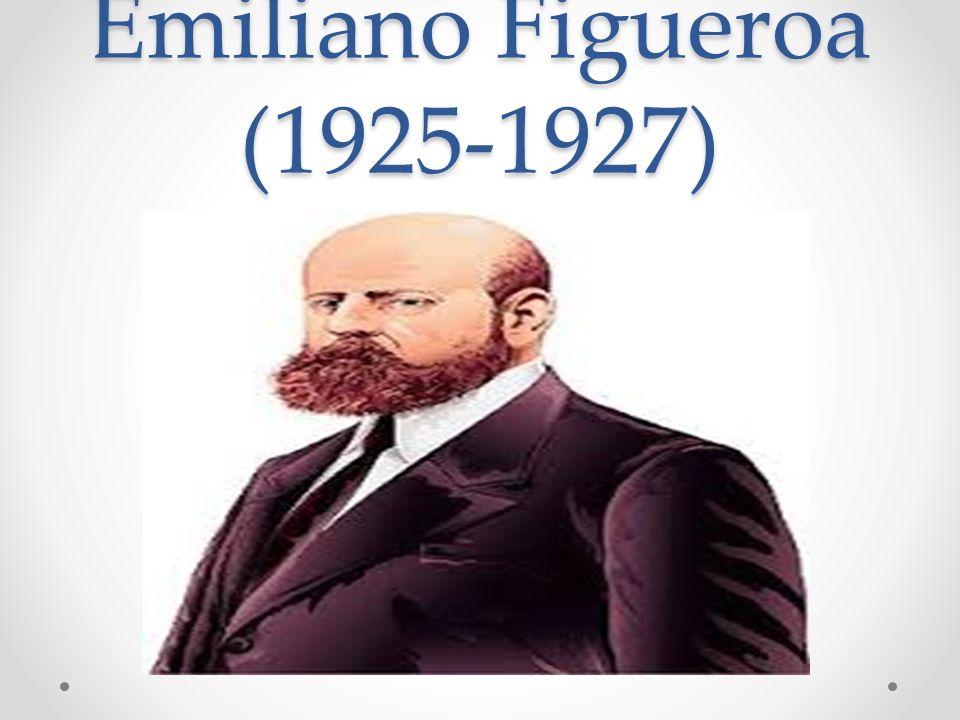 Emiliano Figueroa (1925-1927) c