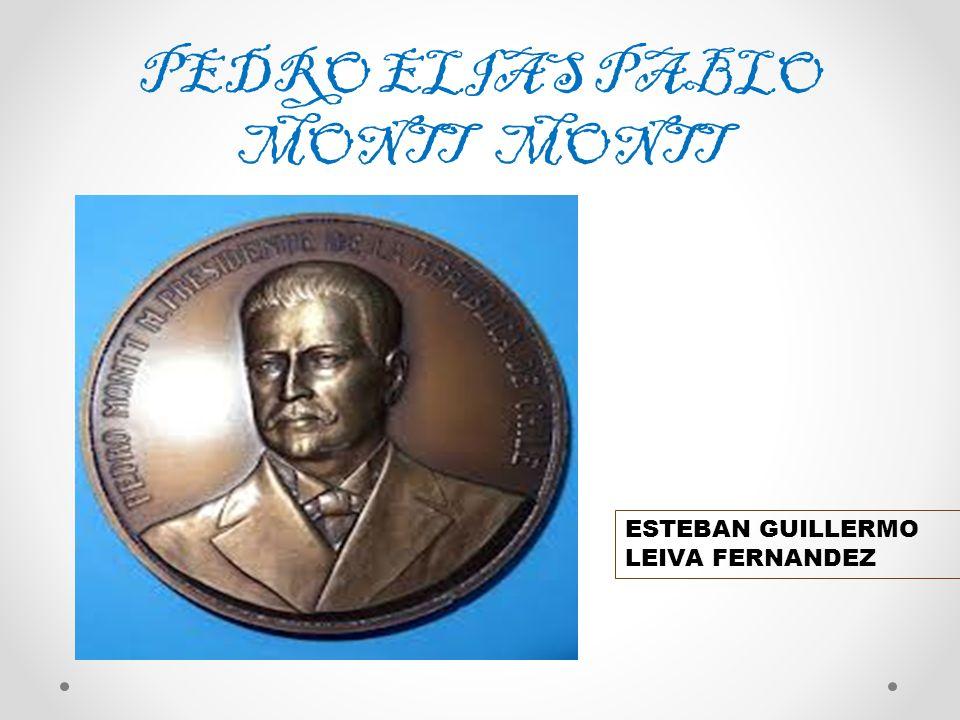 PEDRO ELIAS PABLO MONTT MONTT