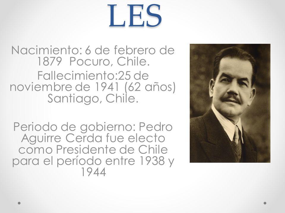 DATOS PERSONALES Nacimiento: 6 de febrero de 1879 Pocuro, Chile.