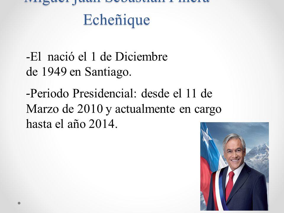 Miguel juan Sebastián Piñera Echeñique