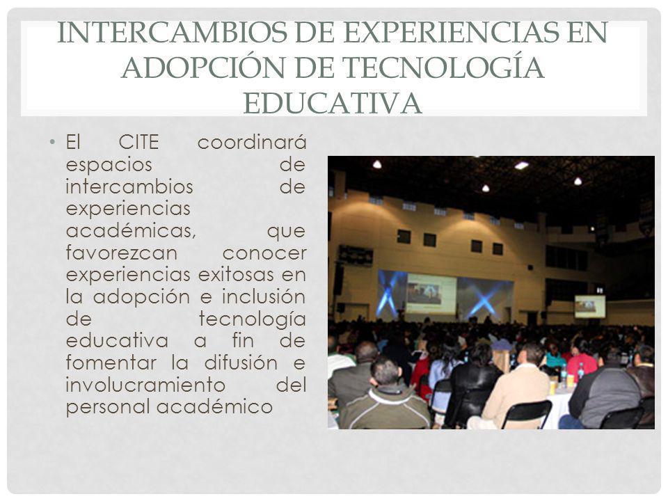 Intercambios de experiencias en adopción de tecnología educativa