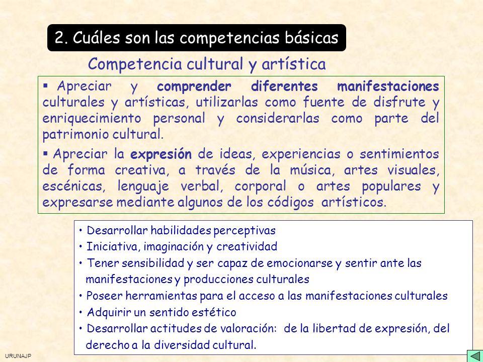 2. Cuáles son las competencias básicas