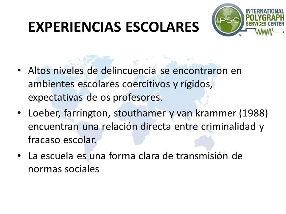 EXPERIENCIAS ESCOLARES