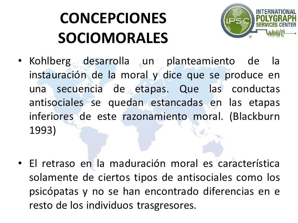 CONCEPCIONES SOCIOMORALES