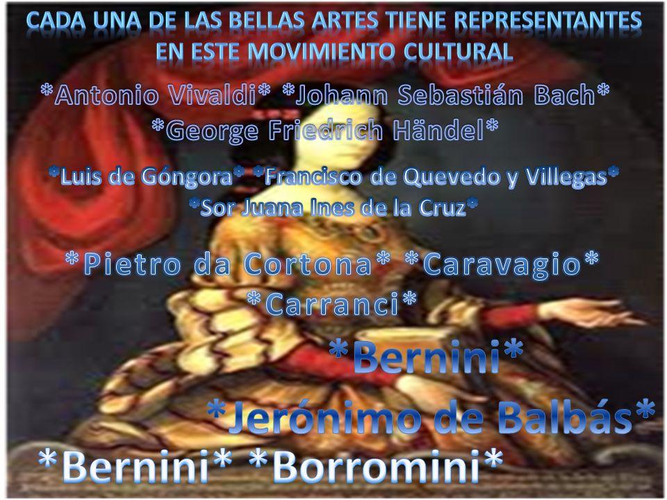 *Bernini* *Jerónimo de Balbás* *Bernini* *Borromini*