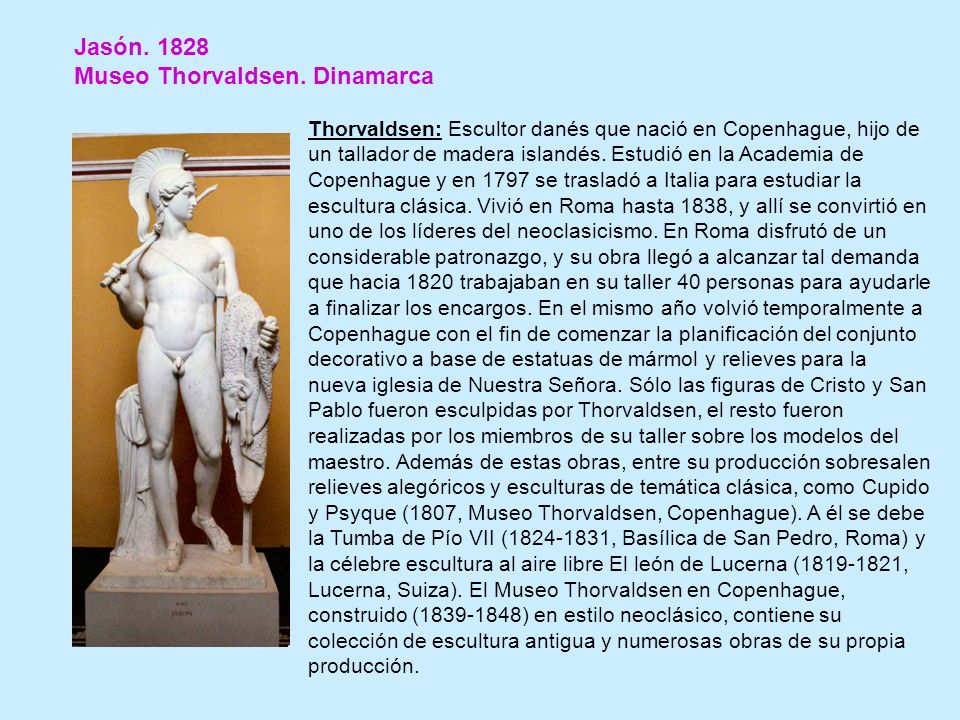 Museo Thorvaldsen. Dinamarca
