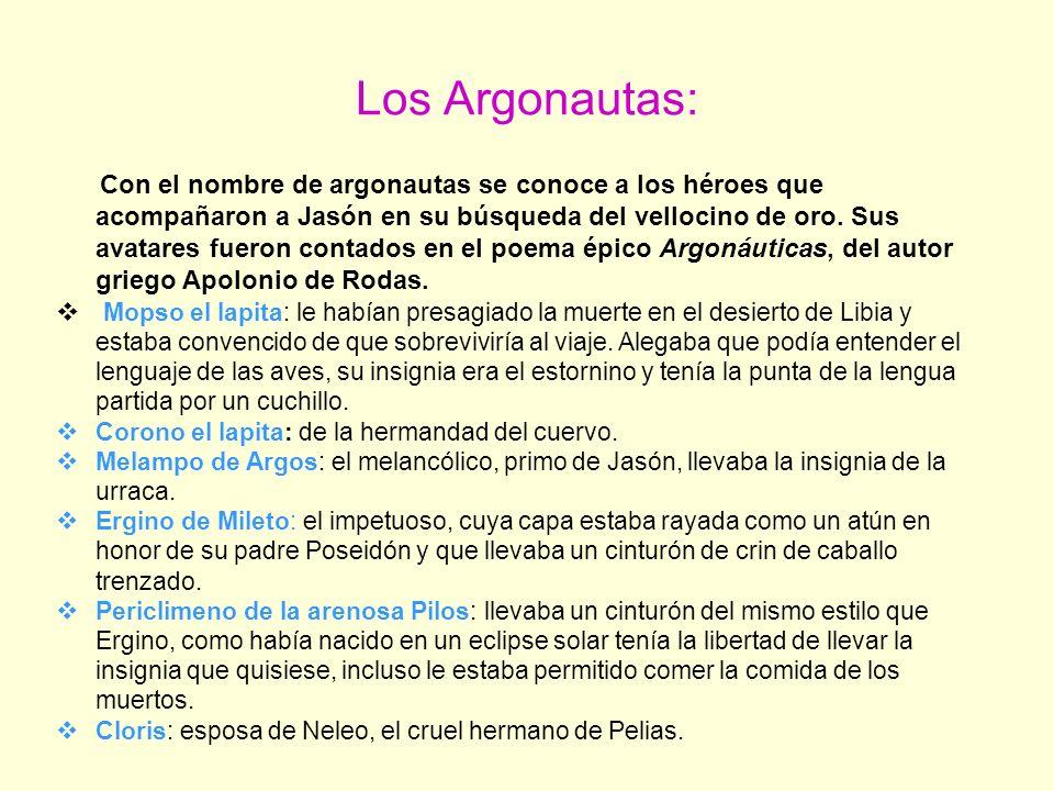 Los Argonautas:
