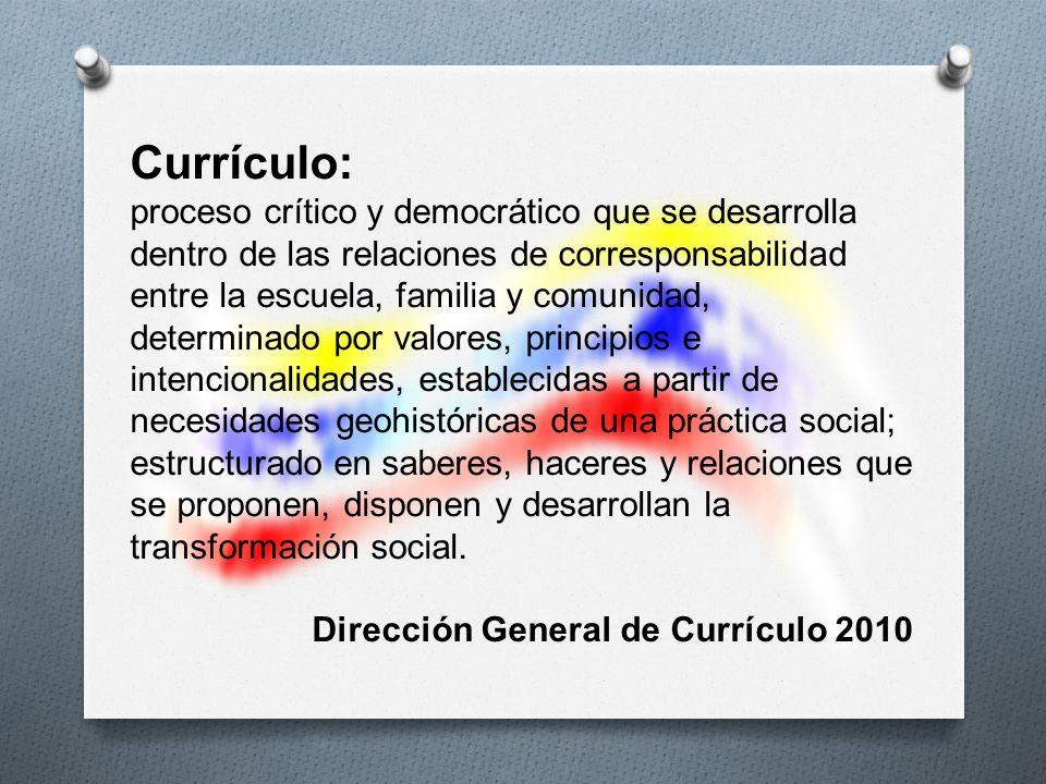 Currículo: