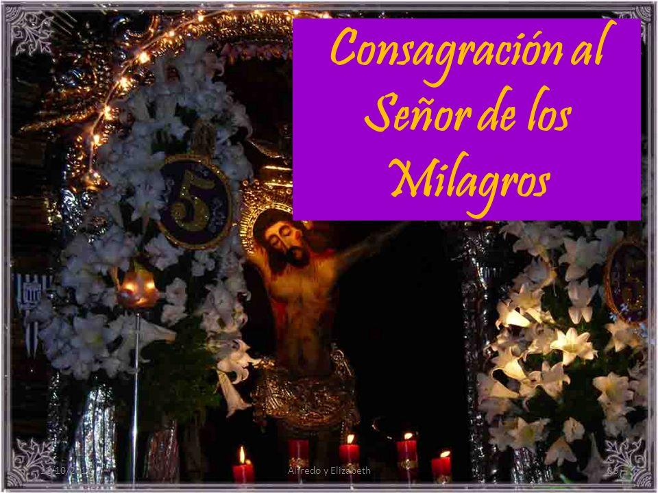 Consagración al Señor de los Milagros