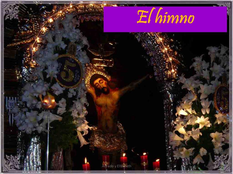 El himno 11/10/2012 Alfredo y Elizabeth