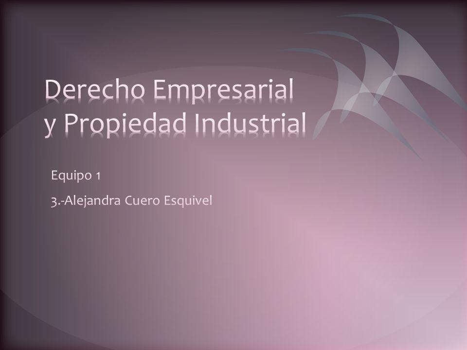 Derecho Empresarial y Propiedad Industrial