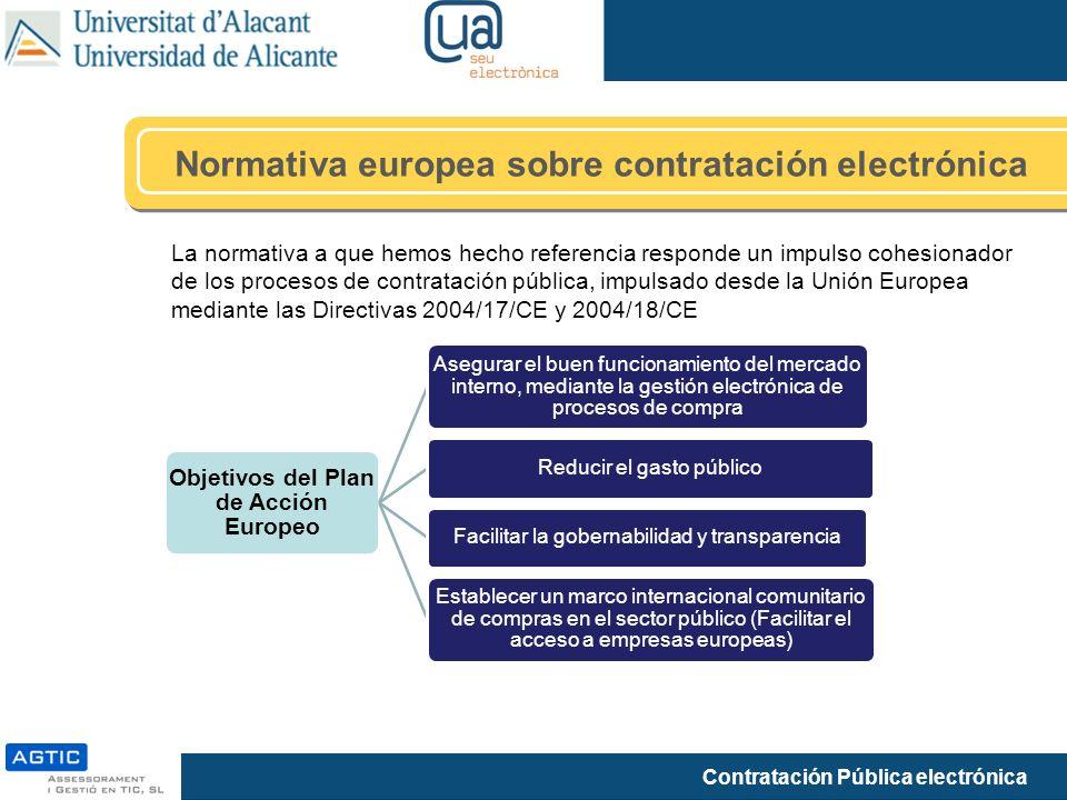 Objetivos del Plan de Acción Europeo