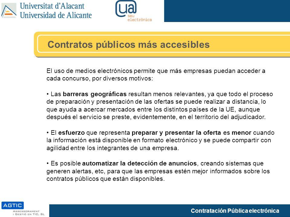 Contratos públicos más accesibles