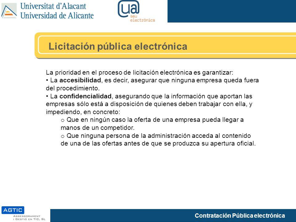 Licitación pública electrónica