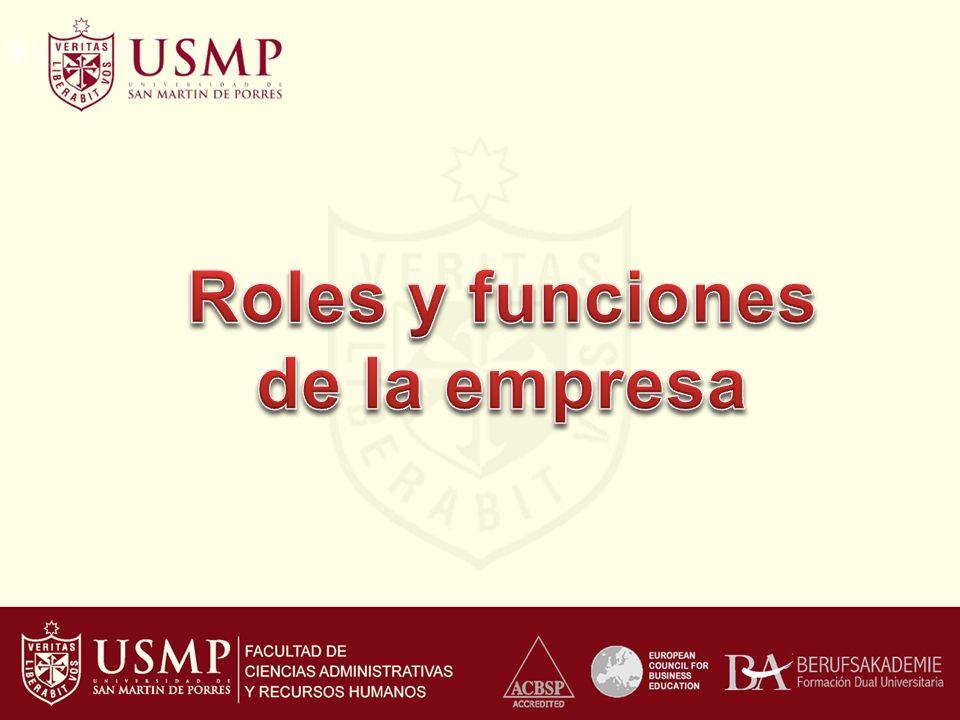 Roles y funciones de la empresa