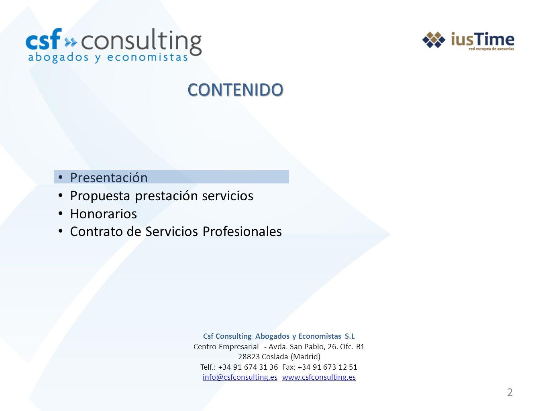 Csf Consulting Abogados y Economistas S.L