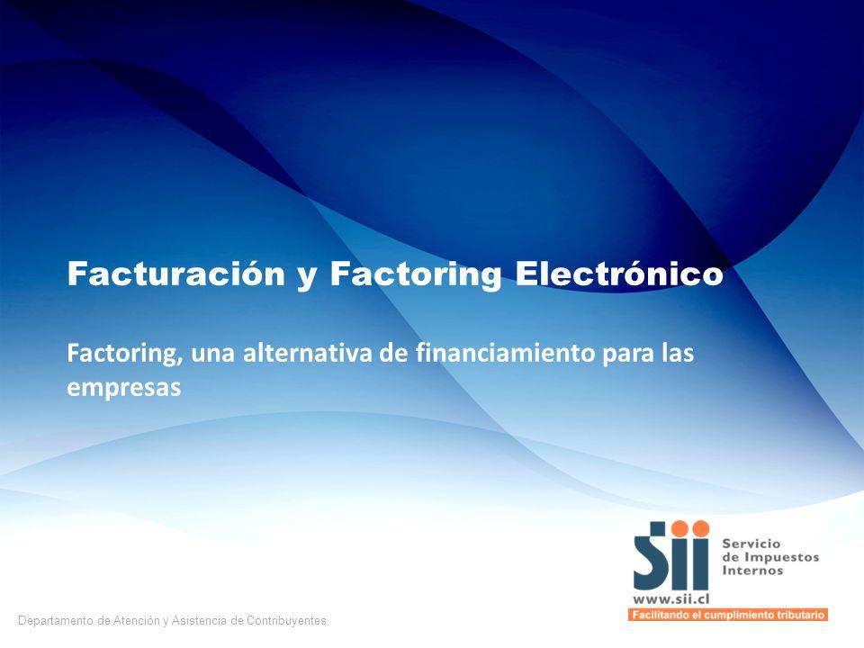 Facturación y Factoring Electrónico