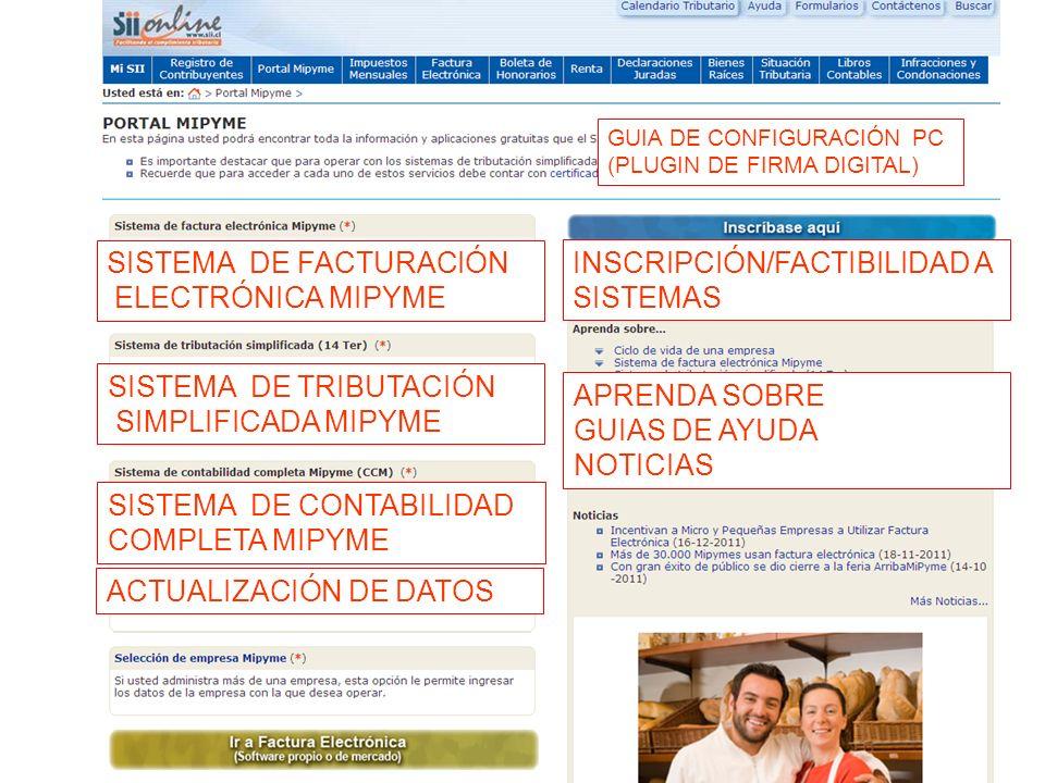 SISTEMA DE FACTURACIÓN ELECTRÓNICA MIPYME