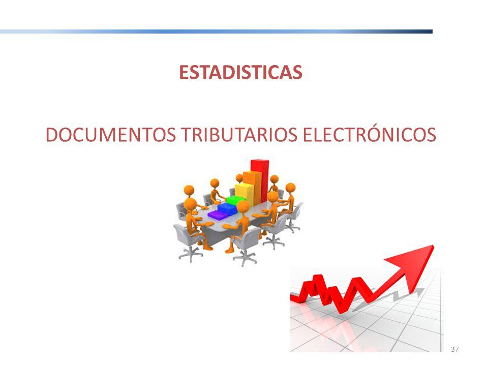 ESTADISTICAS DOCUMENTOS TRIBUTARIOS ELECTRÓNICOS