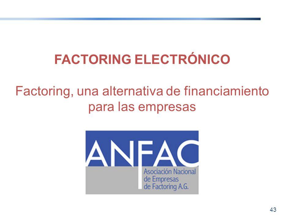 FACTORING ELECTRÓNICO
