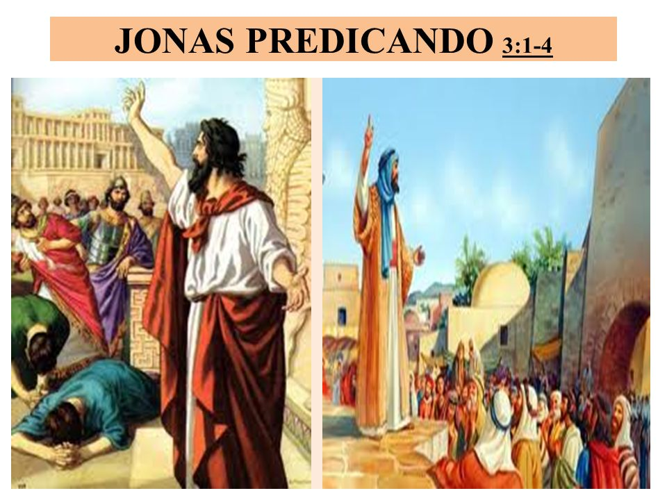 List of Synonyms and Antonyms of the Word: jonas predicando en ninive