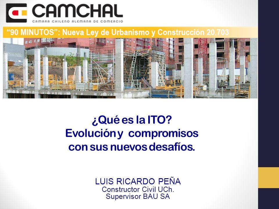 ¿Qué es la ITO Evolución y compromisos con sus nuevos desafíos.
