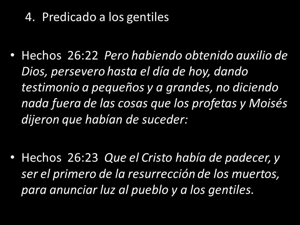 Predicado a los gentiles