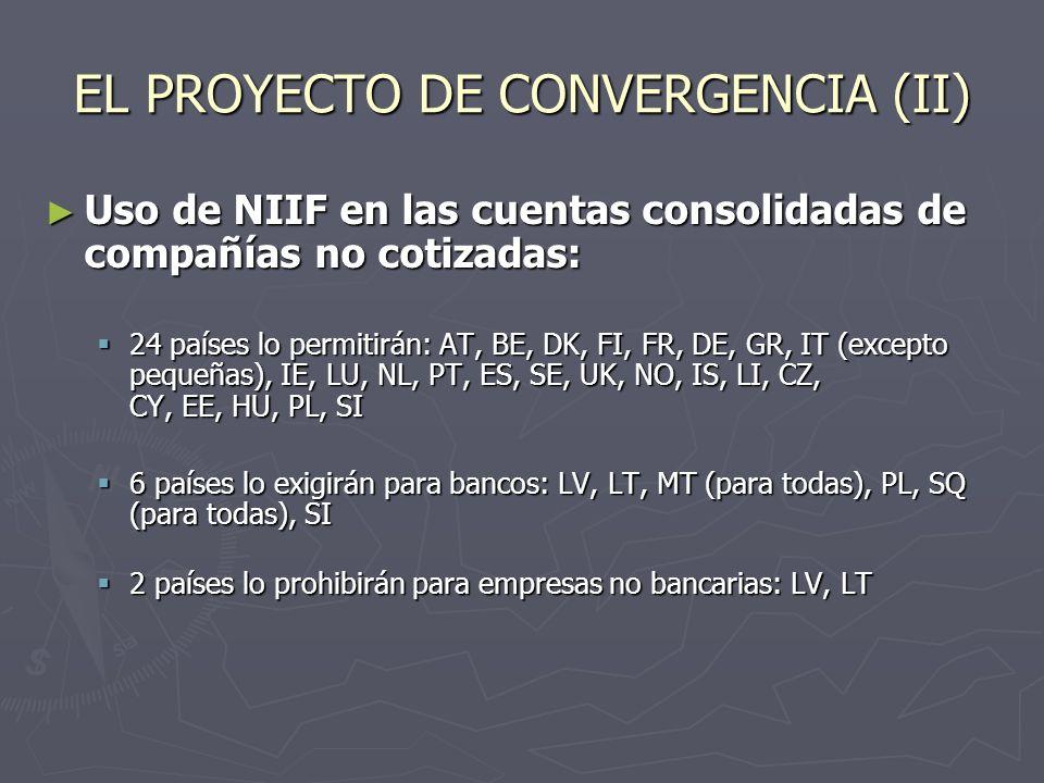 EL PROYECTO DE CONVERGENCIA (II)