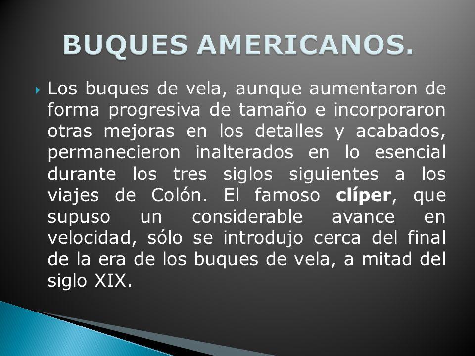 BUQUES AMERICANOS.