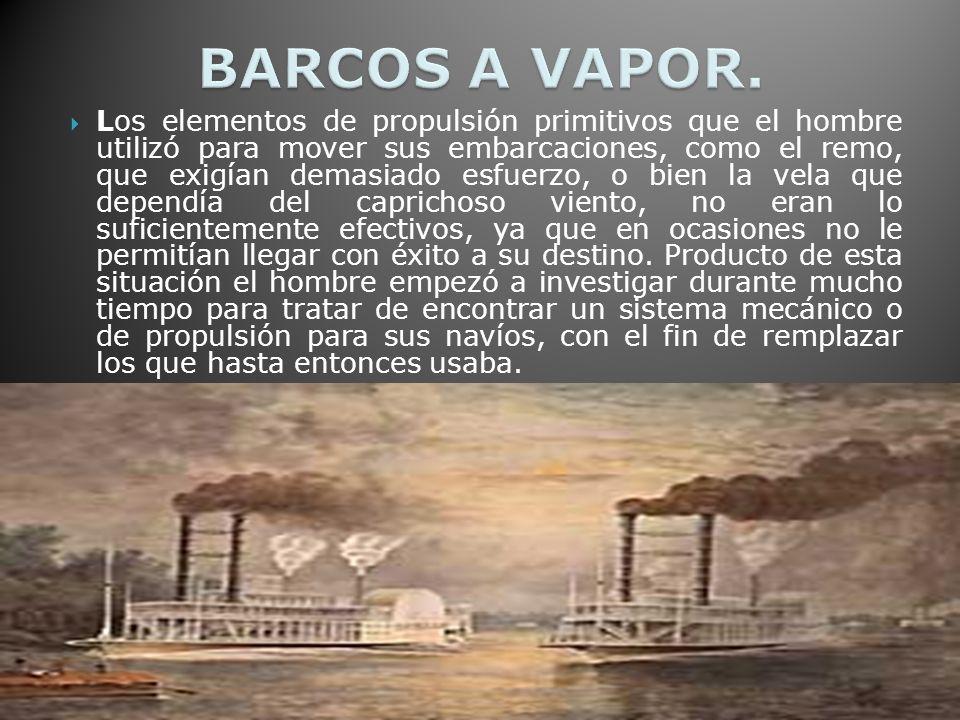 BARCOS A VAPOR.
