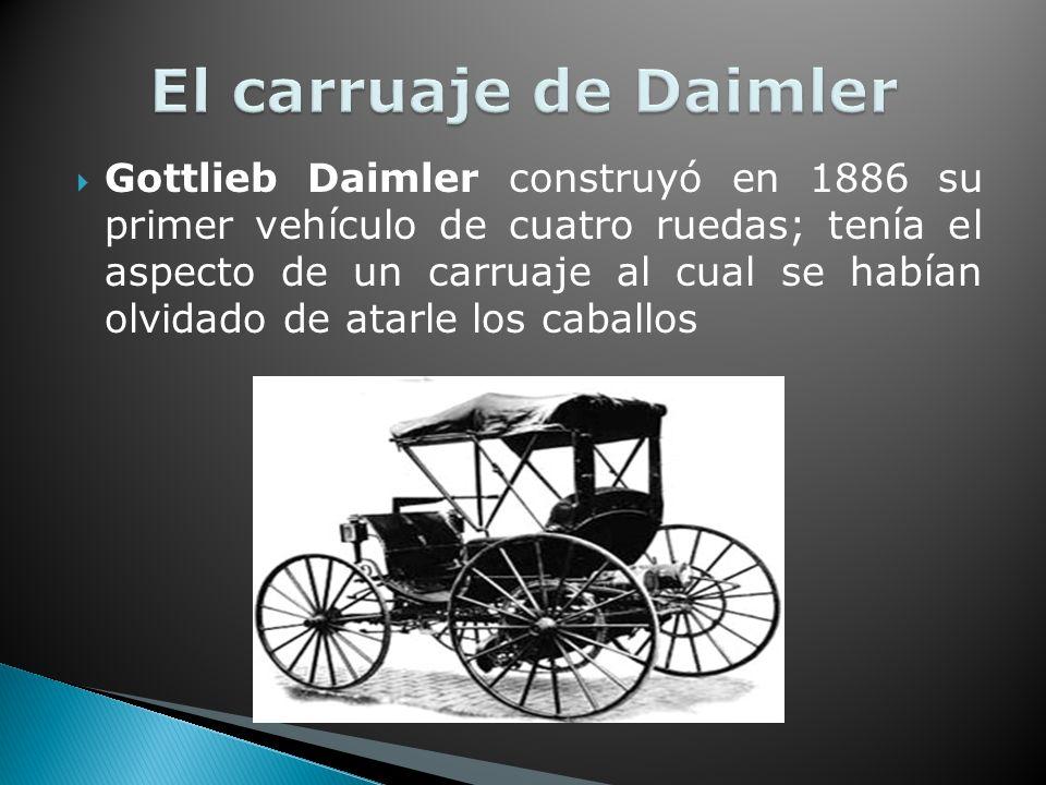 El carruaje de Daimler