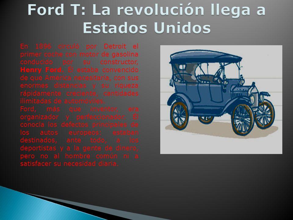 Ford T: La revolución llega a Estados Unidos