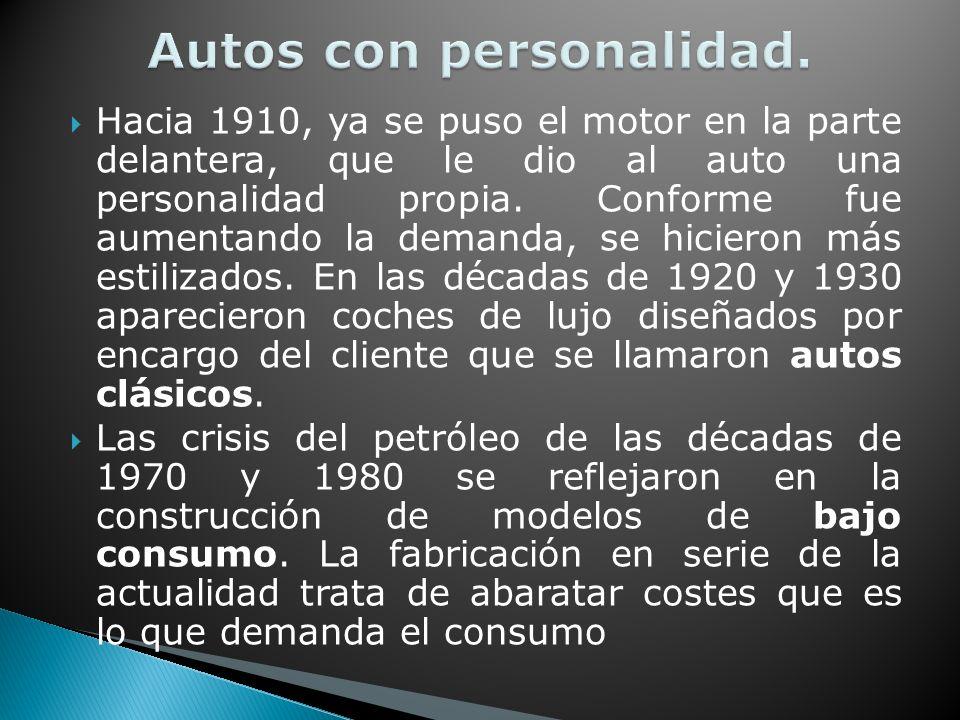 Autos con personalidad.