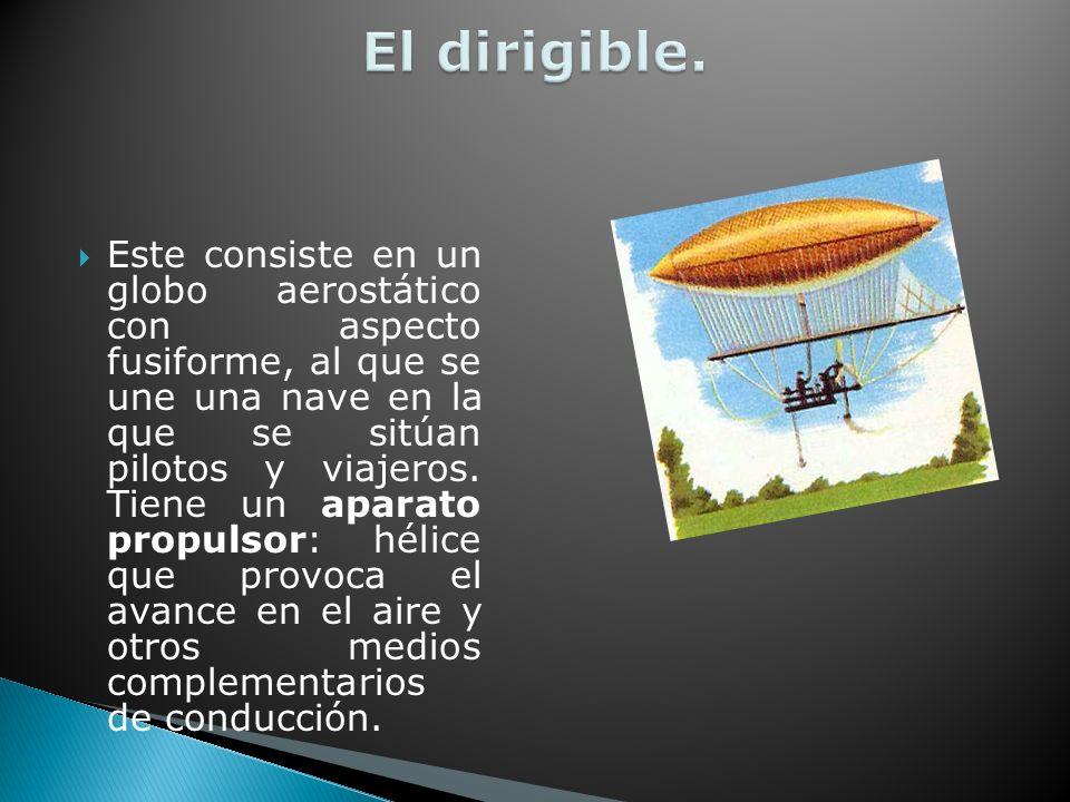 El dirigible.