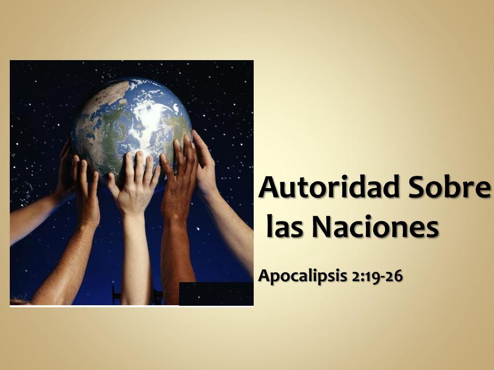 Autoridad Sobre las Naciones