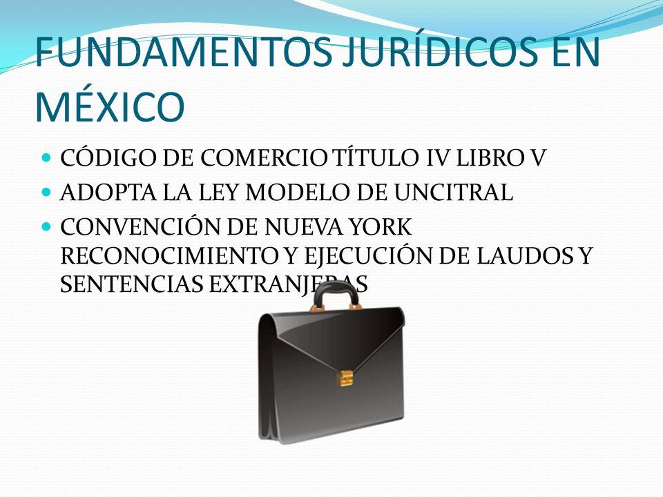 FUNDAMENTOS JURÍDICOS EN MÉXICO
