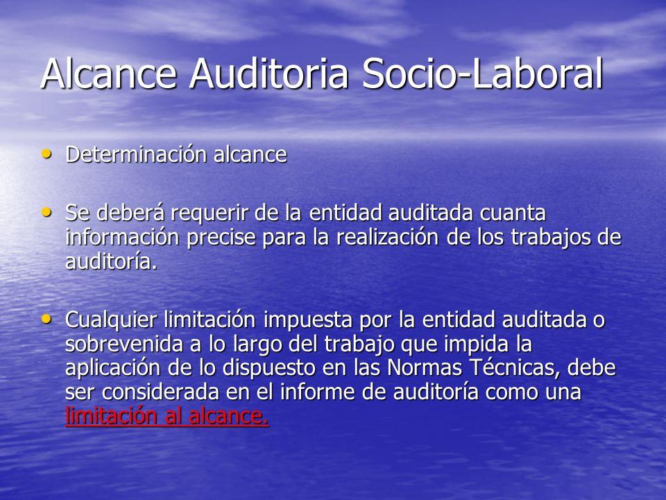 Alcance Auditoria Socio-Laboral