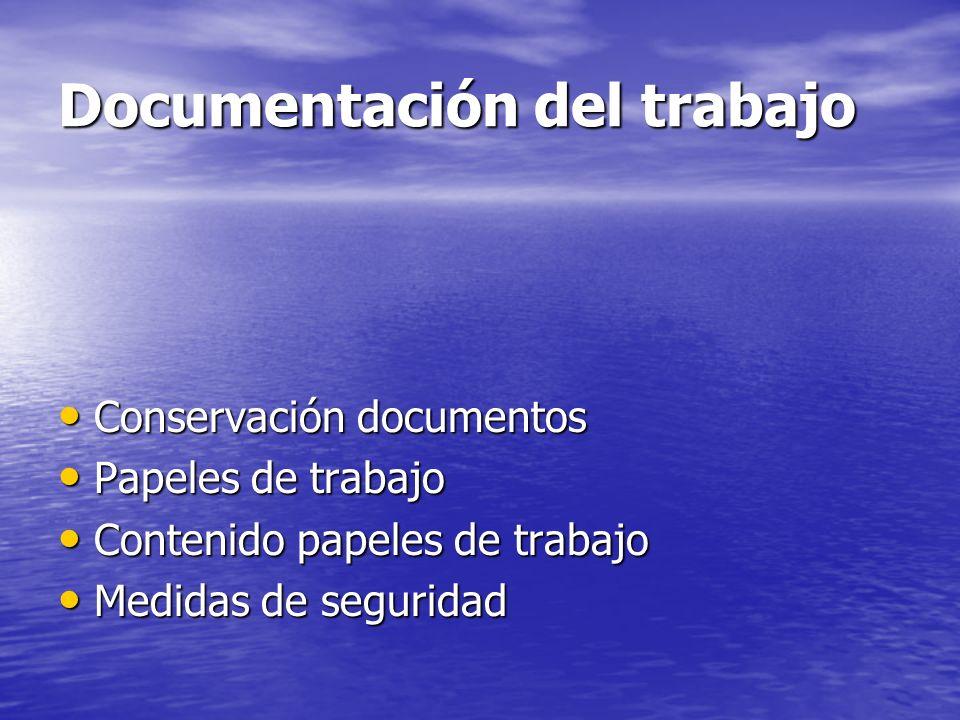 Documentación del trabajo