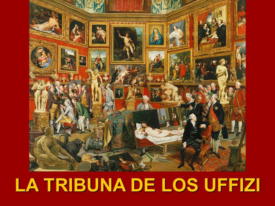 LA TRIBUNA DE LOS UFFIZI