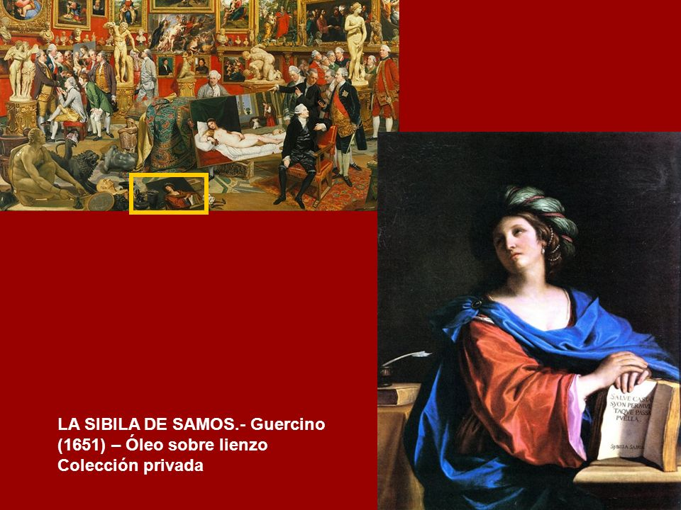 LA SIBILA DE SAMOS.- Guercino