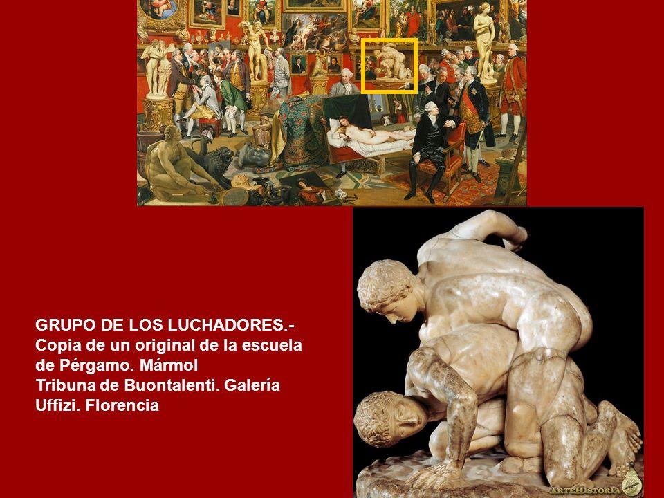 GRUPO DE LOS LUCHADORES.-