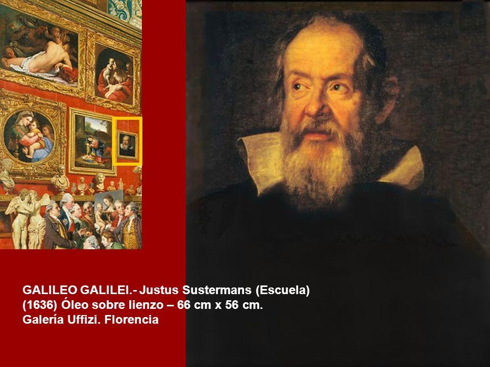 GALILEO GALILEI.- Justus Sustermans (Escuela)