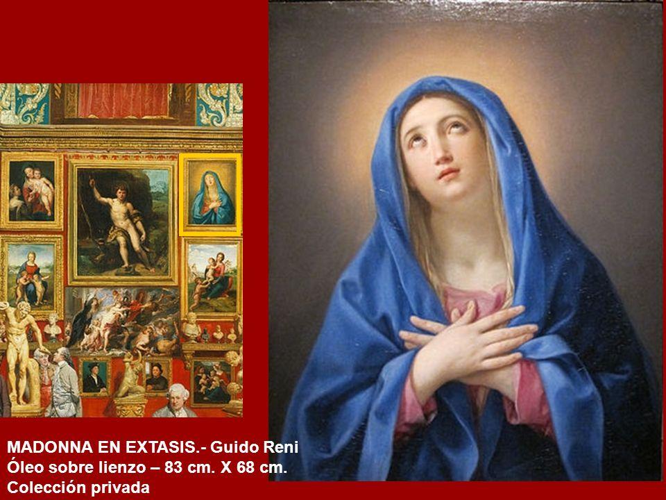 MADONNA EN EXTASIS.- Guido Reni