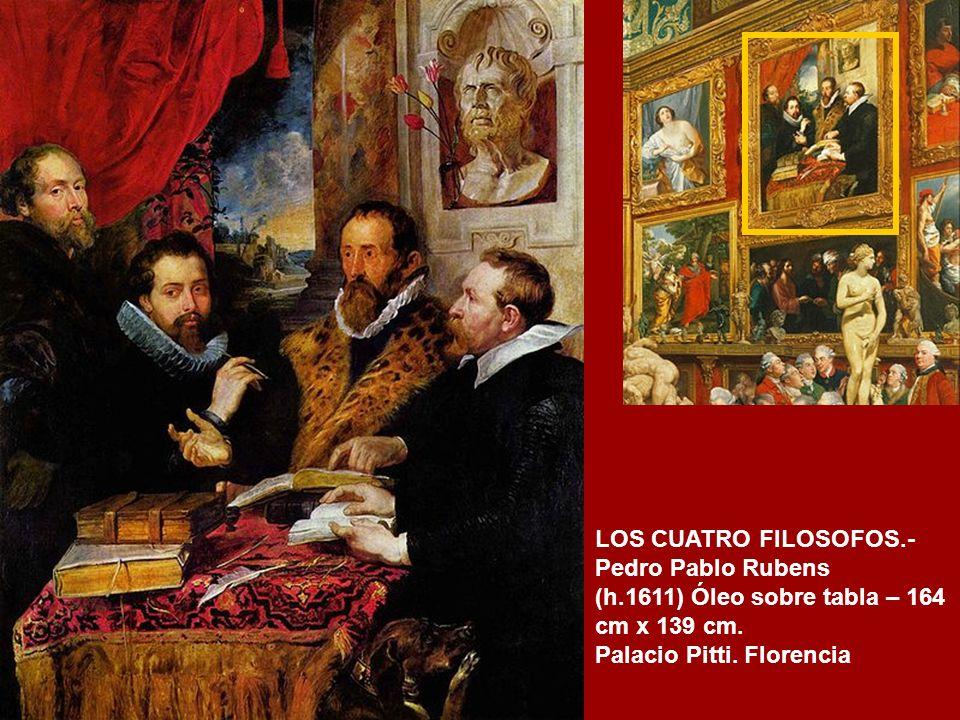 LOS CUATRO FILOSOFOS.- Pedro Pablo Rubens