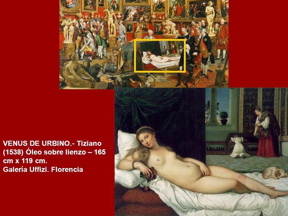 VENUS DE URBINO.- Tiziano