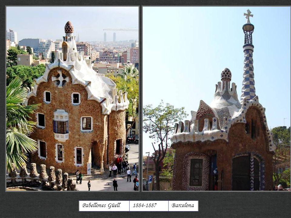 http://xistes.es Pabellones Güell 1884-1887 Barcelona